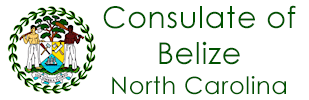 Consulate of Belize in North Carolina Logo